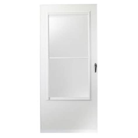 Emco Door by Emco 36 In X 80 In 200 Series White Self Storing