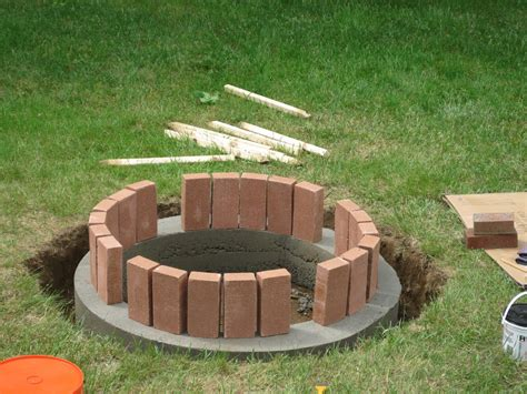 How To Make A Brick Fire Pit In Your Backyard Fire Pit How To Create A Pit In Your Backyard