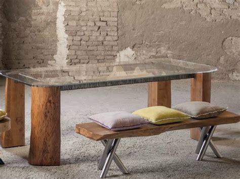 Teak Schreibtisch 472 by Tree Trunk Furniture By And Matteo Bagnai