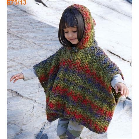 Modele Poncho Tricot Fille Gratuit