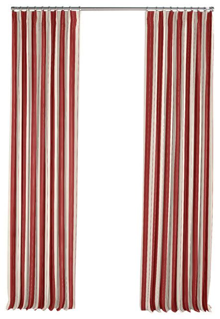 red and tan curtains racing stripe pleated single panel curtain tan and red