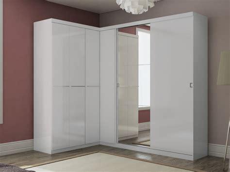 guardaroba angolare armadio guardaroba angolare olof con specchio 6 ante