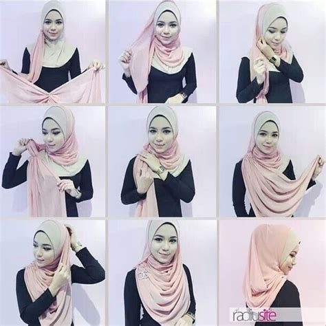 tutorial pashmina chiffon 62 best hijab images on pinterest hijab tutorial head