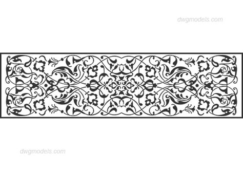 pattern dwg download decorative pattern dwg free cad blocks download