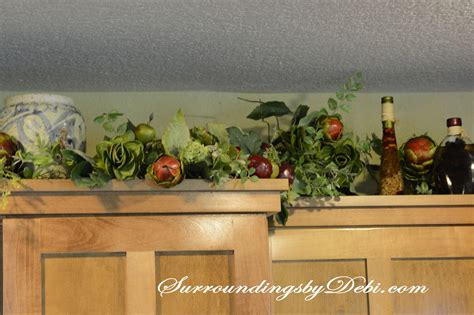 Garland For Above Kitchen Cabinets by Garland For Above Kitchen Cabinets Big Letters And Pine