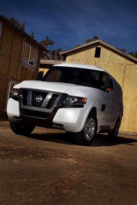 nissan nv2500 official nissan nv2500 concept unveiled