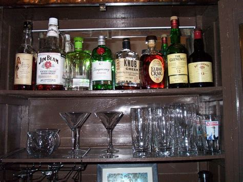 how to make your own liquor cabinet