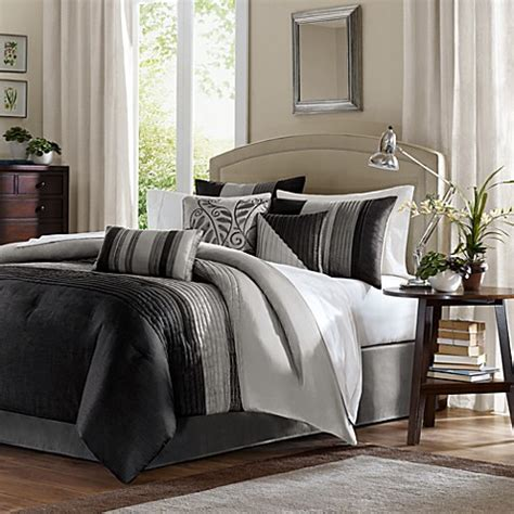 bed bath and beyond queen comforter buy madison park amherst queen 7 piece comforter set from