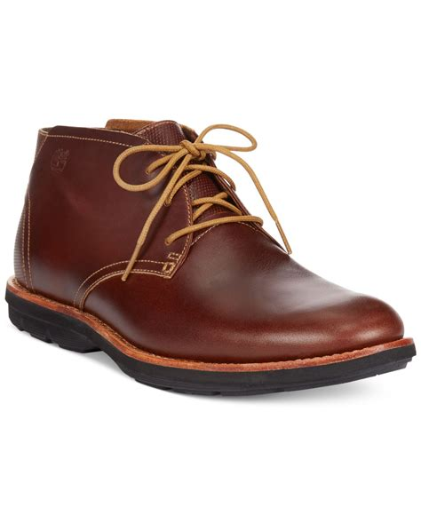 timberland earthkeepers kempton chukka boots in brown for