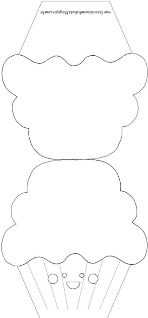 cupcake shaped card template imprimibles para invitaciones con forma de cupcakes