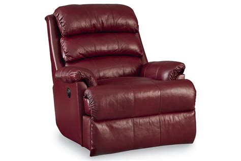 maroon leather recliner burgundy leather rocker recliner at gardner white