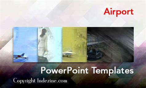 Airport Powerpoint Templates Airport Powerpoint Template