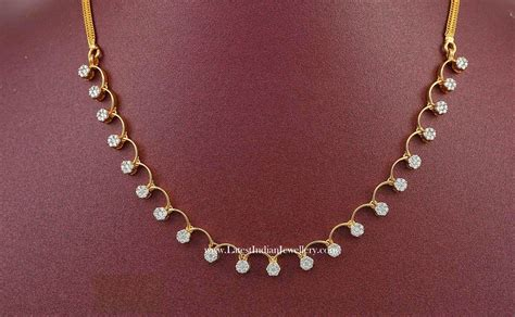 simple necklace designs in 1 lakh