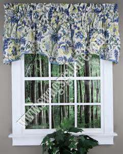 Waverly Kitchen Curtains Imperial Dress Valance Porcelain Waverly Waverly Curtains
