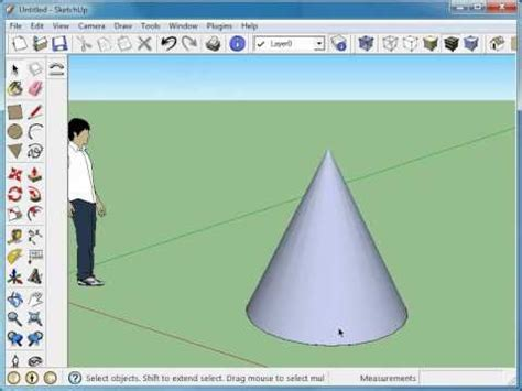google sketchup cone tutorial how to make donut sketchup mov funnydog tv