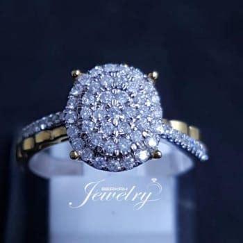 Cincin Berlian Emas Putih 75 harga new promo ramadhan gelang emas putih 75 berlian