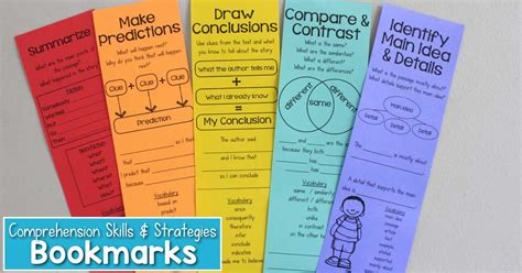 printable nonfiction bookmarks reading comprehension bookmarks to support academic language