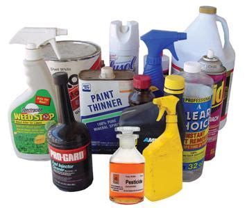 toxic household items hazardous waste
