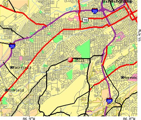 zip code map jefferson county al birmingham al zip code map my blog
