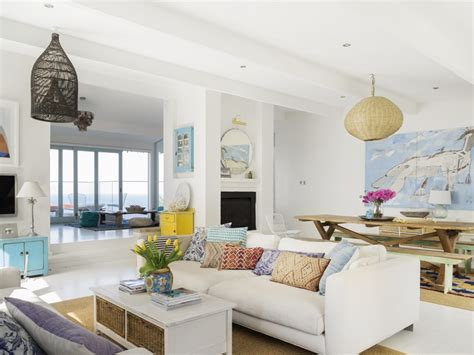 beach house interiors wonderful 1 beach house interiors make a white canvas with splashes of vibrant hues decoholic