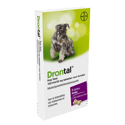 drontal puppy drontal flavour ontworming voor honden kopen