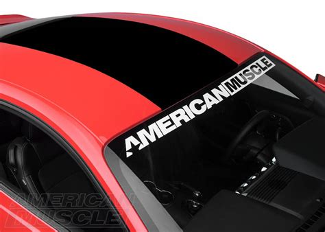 mustang back window decals mustang exterior decal customization styling guide