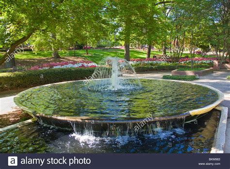glencairn garden in rock hill south carolina stock photo