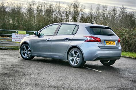 peugeot car leasing uk peugeot 308 full on the road review