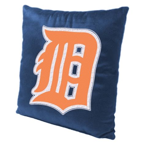 detroit tigers bedding detroit tigers mlb 16 quot embroidered plush pillow with applique