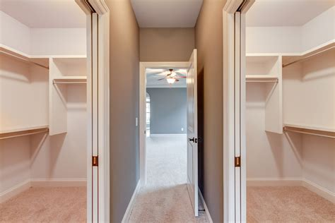 separate walk in closets w pocket doors house