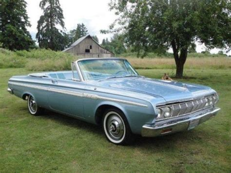 buy used 1964 plymouth fury convertible in hubbard oregon united states for us 18 000 00