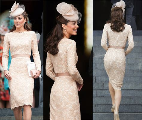 Syari Berly Pink 2in1 the look for less kate middleton s beige lace