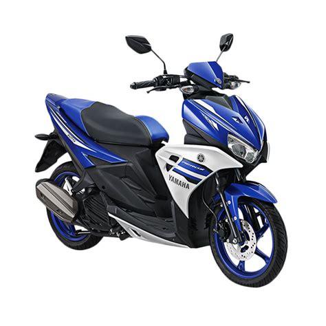 blibli yamaha aerox jual yamaha aerox sepeda motor biru otr bogor online