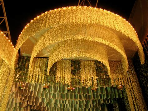 indian wedding flower decoration pictures flowers and south indian weddings theknotstory