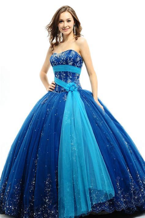 Vestidos De 15 Años Azul Turquesa 2017