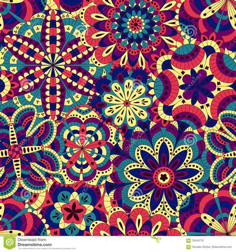 imagenes de muchas mandalas floral background made of many mandalas seamless pattern