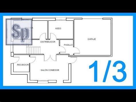 tutorial autocad desde cero autocad 1 3 dibujar el plano de una casa paso a paso en