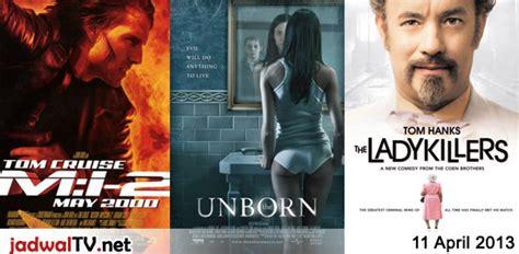 jadwal film dan sepakbola 4 april 2013 jadwal tv jadwal film dan sepakbola 11 april 2013 jadwal tv