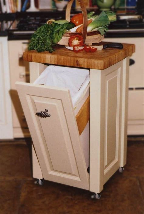 small kitchen island on wheels 17 best ideas about modern kitchen trash cans on rustic kitchen trash cans kitchen