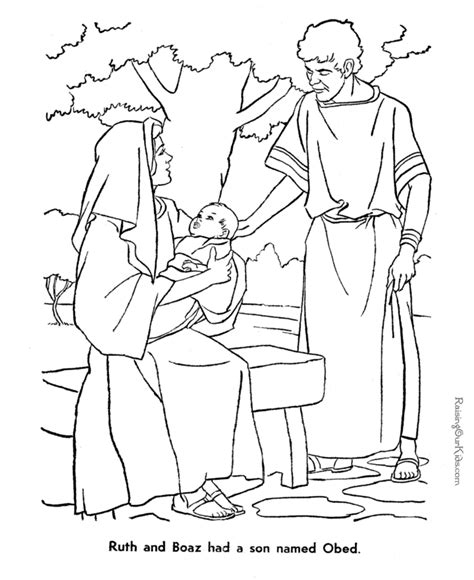 coloring pages for ruth and boaz ruth and boaz bible coloring page to print 037