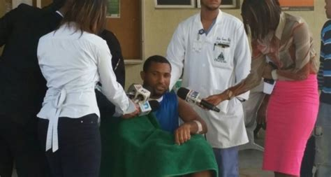 hospital marcelino v 233 santana germ 225 n mer 225 n herido en asalto de banda de percival fue dado de alta por hospital paginaextra