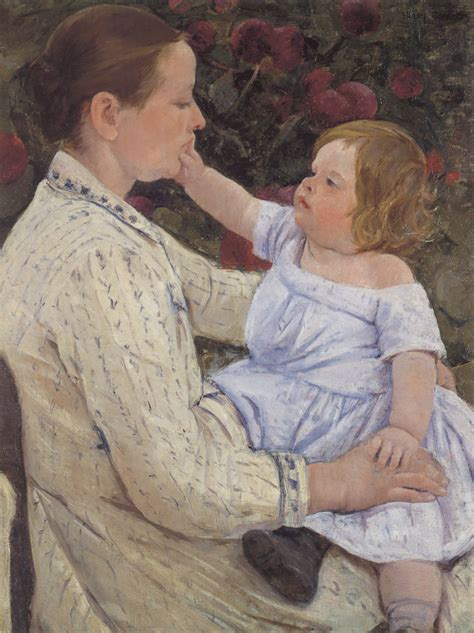 biography of mary cassatt artist the child s caress c 1890 mary cassatt wikiart org
