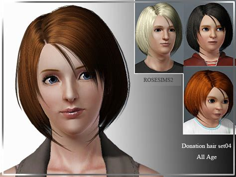 sims 3 cheats for hairstyles the sims 3 bob with long corners by rose