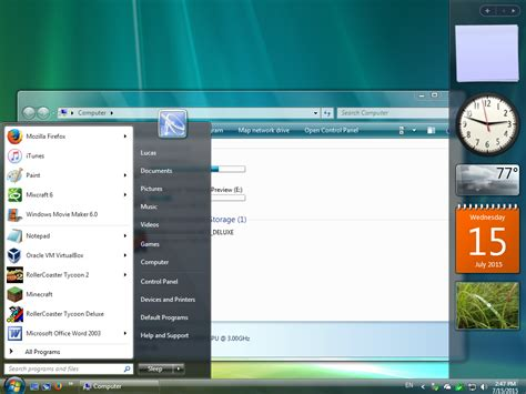 vista theme download for windows 7 windows vista aero for windows 7 by least1234 on deviantart