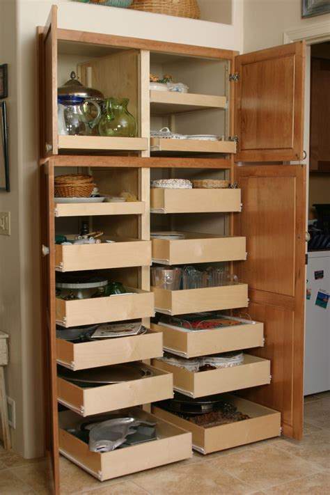 Kitchen Cabinet Pull Out Organizer by Pantry The Pull Out Shelf Company