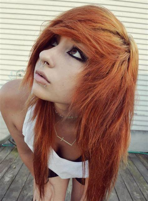 Hairstyles Similar To Emo   how to style emo scene hair girls female emo hairstyles