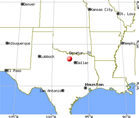 map of decatur texas 07 01 2014 08 01 2014