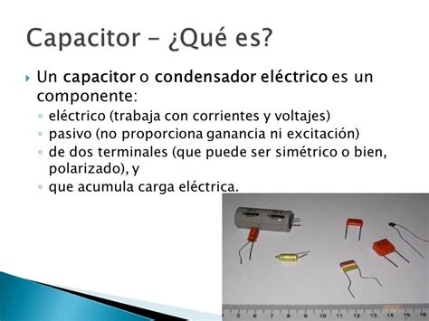que es un capacitor industrial capacitores y ultracapacitores ppt descargar