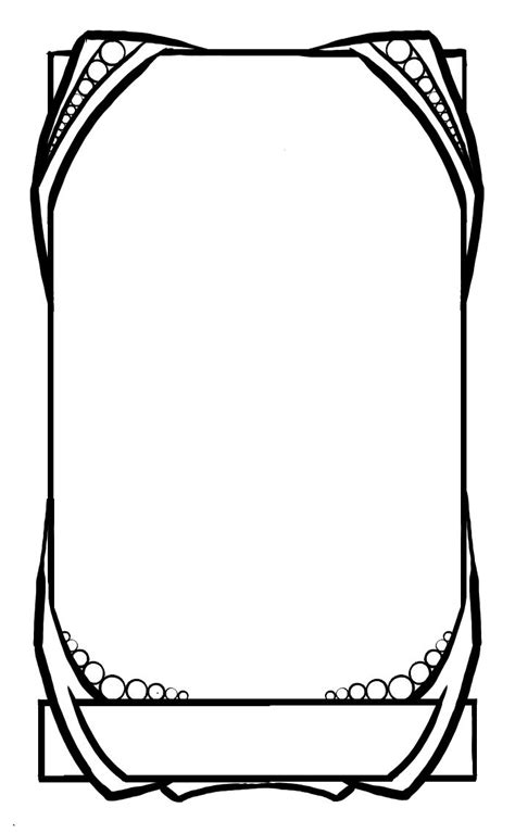 card outline template 14 best tarot blanks images on tarot cards