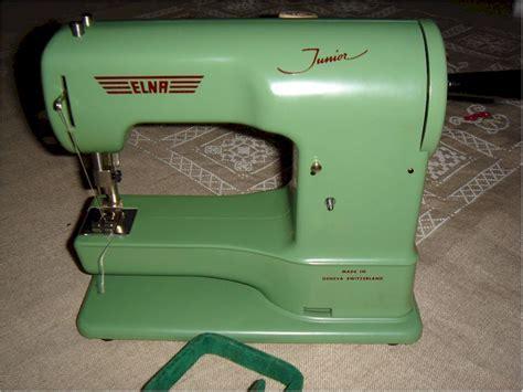 Machine A Coudre Elna Ancien Modele